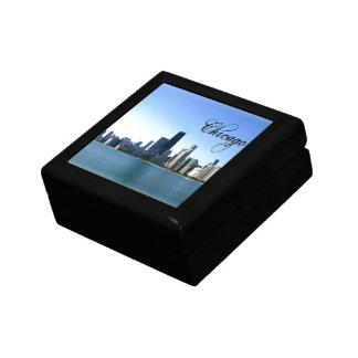 Chicago Skyline Photo Across from Lake Michigan Gift Box