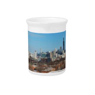 Chicago Skyline Drink Pitchers