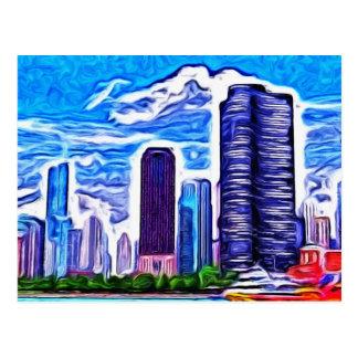 Chicago Skyline Postcard