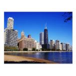 Chicago Skyline. Postcard
