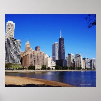 Chicago Skyline. Poster