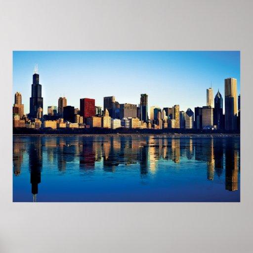 chicago skyline art - photo #39