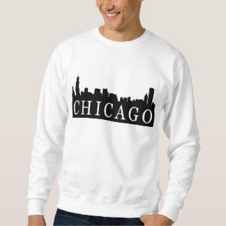 Chicago Skyline Pullover Sweatshirt