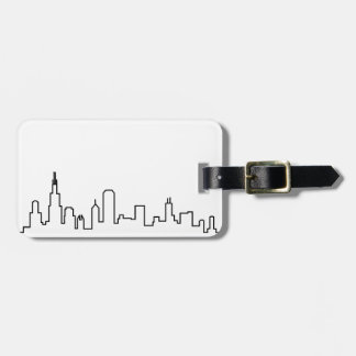 Chicago Skyline Series Luggage Tag