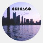 Chicago skyline sticker