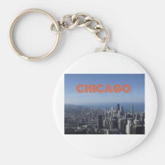 Chicago skyline T Keychains