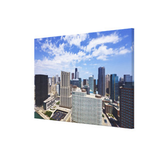 Chicago Skyline to the North of Downtown Canvas Print