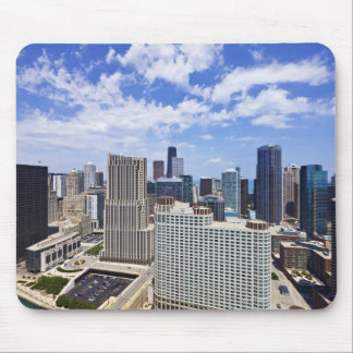 Chicago Skyline to the North of Downtown Mouse Pad