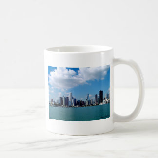 Chicago skyline view from Navy Pier Coffee Mug