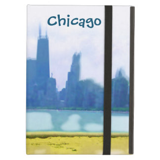 Chicago Skyscrapers Air Brushed iPad Air Cover
