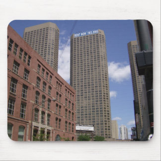 Chicago skyscrapers cityscape mousepad