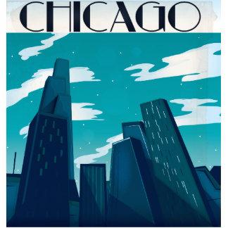 Chicago Skyscrapers Statuette