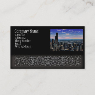 Chicago Skyview Business Card