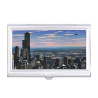 Chicago Skyview Business Card Case