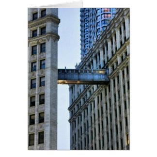 Chicago Skywalk Card