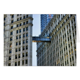 Chicago Skywalk Tarjeta De Felicitación