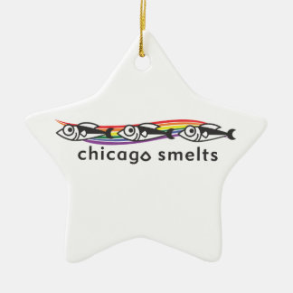 Chicago Smelts star ornament