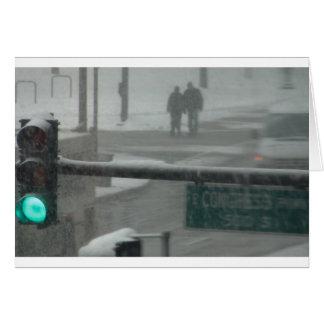 Chicago Snow Days Card
