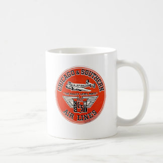 Chicago & Southern Air Lines logo Coffee Mug