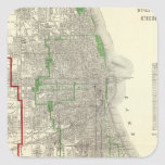 Chicago Square Sticker