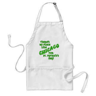 CHICAGO St Patricks Day Adult Apron