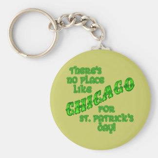 CHICAGO St Patricks Day Key Chains