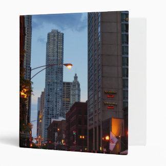 Chicago Street Scene Binder