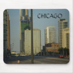CHICAGO, Street Scene Mouse Pad