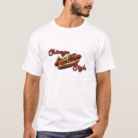 Chicago Style Hot Dog T-Shirt