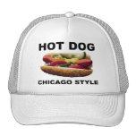 Chicago Style Hot Dog Trucker Hat