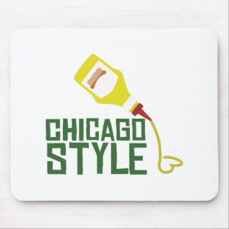 Chicago Style Mouse Pad