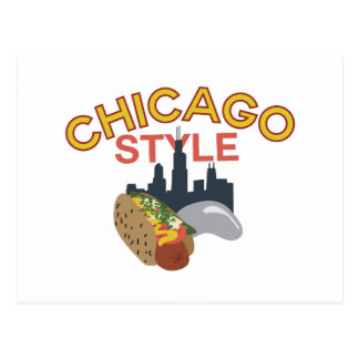 Chicago Style Postcard