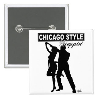 Chicago Style Steppin' Button