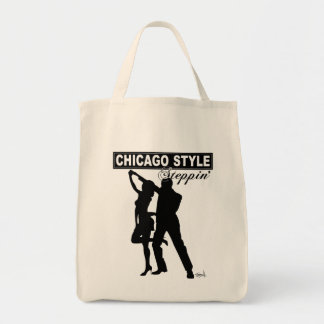 Chicago Style Steppin' Tote Bag
