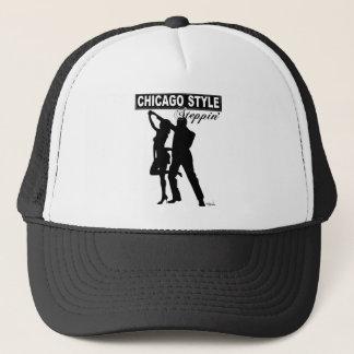 Chicago Style Steppin' trucker cap