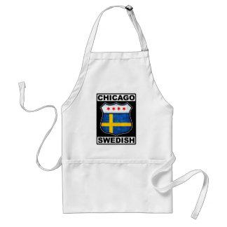 Chicago Swedish American Adult Apron