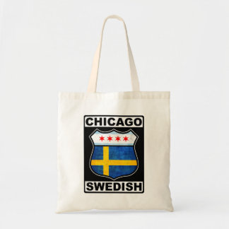 Chicago Swedish American Canvas Bags