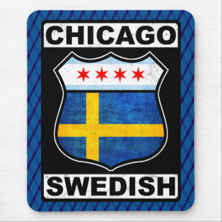 Chicago Swedish American Mousemat Mouse Pad