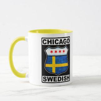 Chicago Swedish American Mug