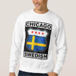 Chicago Swedish American Pullover Sweatshirt