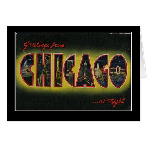 Chicago Tarjeta De Felicitación