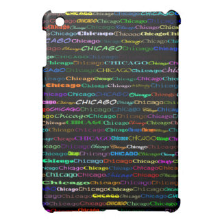 Chicago Text Design I  Cover For The iPad Mini
