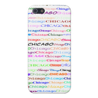 Chicago Text Design II 4/4S  iPhone SE/5/5s Cover