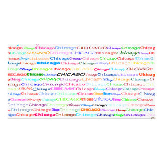 Chicago Text Design II Photo Card