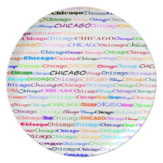 Chicago Text Design II Plate