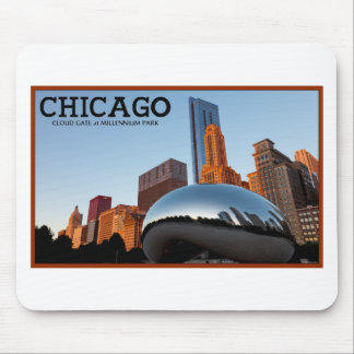 """Chicago - """"The Bean"""" Mouse Pad"""