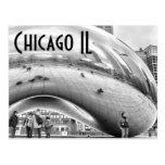 chicago - the bean postcard