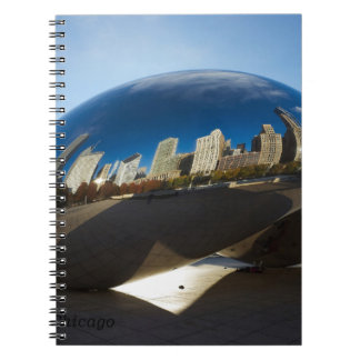 Chicago-The Cloud Gate Spiral Note Books