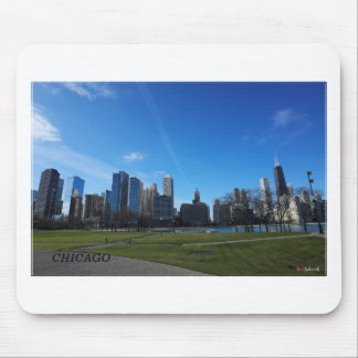 Chicago -The Lake Michigan Mouse Pad