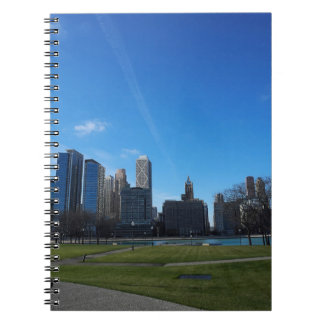 Chicago -The Lake Michigan Spiral Notebooks